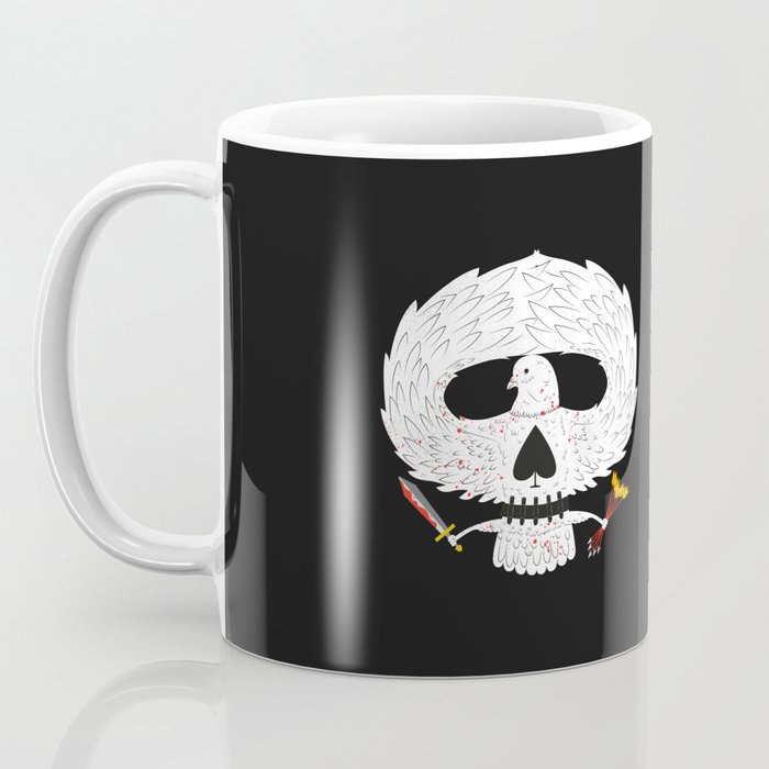 Dove of Death Coffee Mug