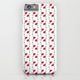 Carnation Rotation iPhone Case