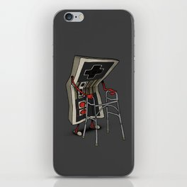 Old Gamer iPhone Skin
