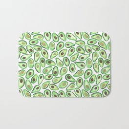 Is This Enough Avocados? - by Rachel Whitehurst Bath Mat