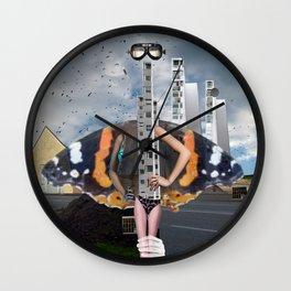 unreal illusion City 21x2 Wall Clock