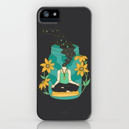 Meditation in a Jar iPhone Case