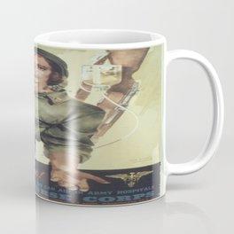 Vintage poster - More Nurses are Needed Coffee Mug
