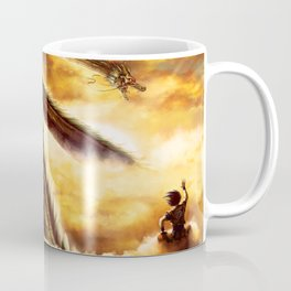 a ride with shenron Coffee Mug