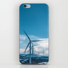 The Wind Farm (Color) iPhone Skin