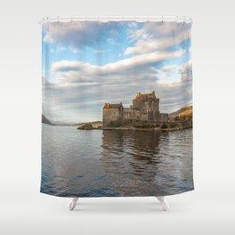 Eilean Donan Castle, Dornie, Kyle of Lochalsh, The Highlands, Scotland Shower Curtain