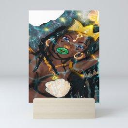 Yemoja Up Close and Powerful Mini Art Print