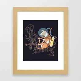 Muttnik Framed Art Print