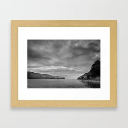 Port Levy Harbour Heads Framed Art Print