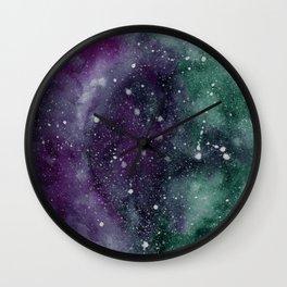 Trust the Universe Black Wall Clock