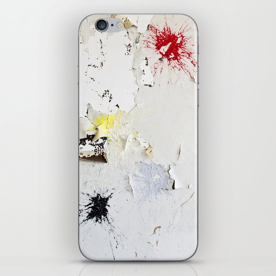 Splat iPhone & iPod Skin