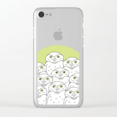 Group of Owls Clear iPhone Case
