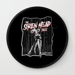 The Siren Head tales meme  Wall Clock