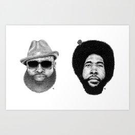 Roots Crew Art Print