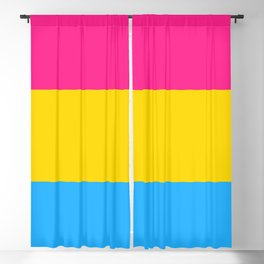 Pan Flag Blackout Curtain