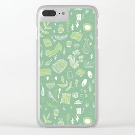 Favorite Things Clear iPhone Case