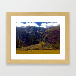 Routeburn Trek, New Zealand Framed Art Print
