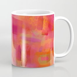 Red Tranquility Background Coffee Mug