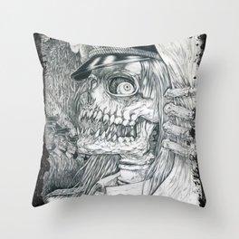 Yes sir Throw Pillow
