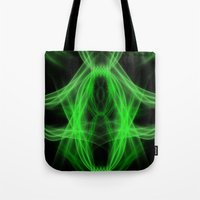 led zeppelin Tote Bags featuring Led by Azimut