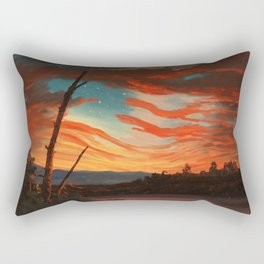 Our Banner In The Sky Rectangular Pillow