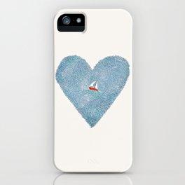 My Heart is an Ocean iPhone Case