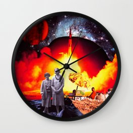 Make Way For Tomorrow Wall Clock