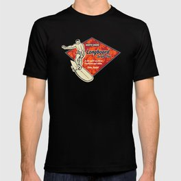 Waimea Hawaiian Surfboard Design T-shirt
