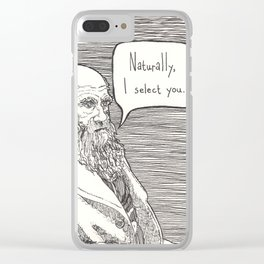 Naturally, I select you Clear iPhone Case