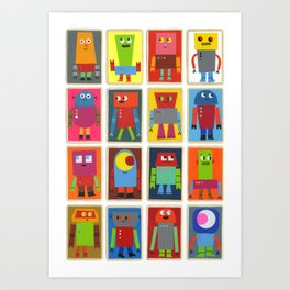 The Robot Army, 2013 Art Print
