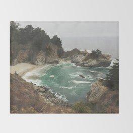 Big Sur - Julia Pfeiffer Throw Blanket