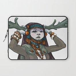 Winter Horns Laptop Sleeve
