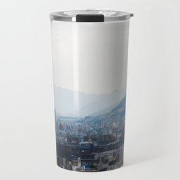 Hiroshima City from Above Travel Mug