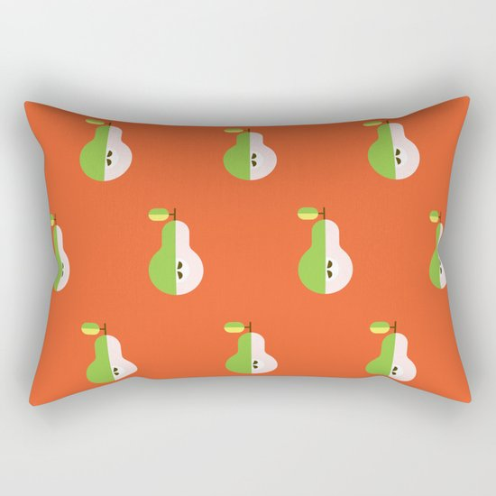 Fruit: Pear Rectangular Pillow