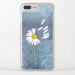 Daisy III Clear iPhone Case