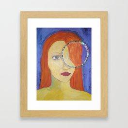mirada (serie) Framed Art Print