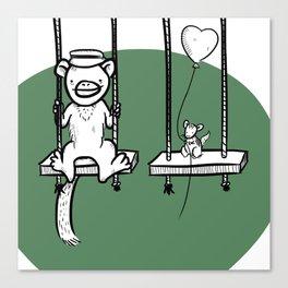 Swings! Canvas Print