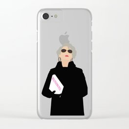 Miranda Priestley Clear iPhone Case
