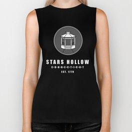 Stars Hollow Tourism Logo Biker Tank