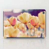 tulips iPad Cases featuring Tulips by elle moss