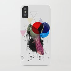 bird colours Slim Case iPhone X