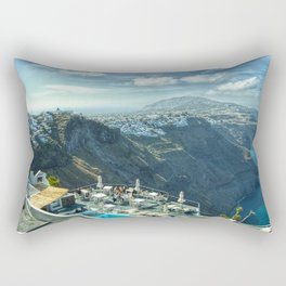 From Volcanic Ash To Beauty Rectangular Pillow