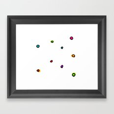 Dots & Doodles. Framed Art Print