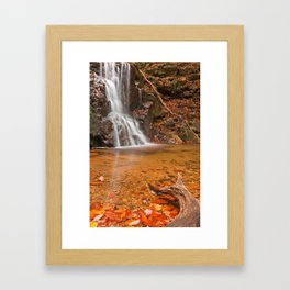 Avalon Hook Falls Framed Art Print