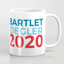 Jed Bartlet Toby Ziegler 2020 / The West Wing Coffee Mug