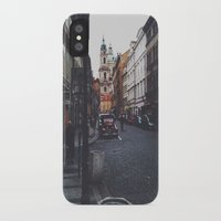 prague iPhone & iPod Cases featuring PRAGUE by REASONandRHYME