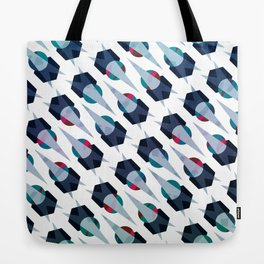 Graphic Pattern - Geometric, Spacey, Angled Tote Bag