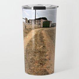 Farm Road in Ciutadella Travel Mug