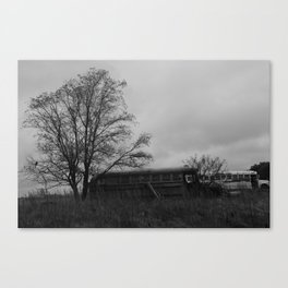 If This Bus Could Talk... Canvas Print