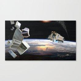 Space junk Canvas Print